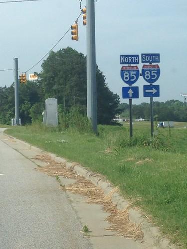 signs northcarolina interstate85 2015