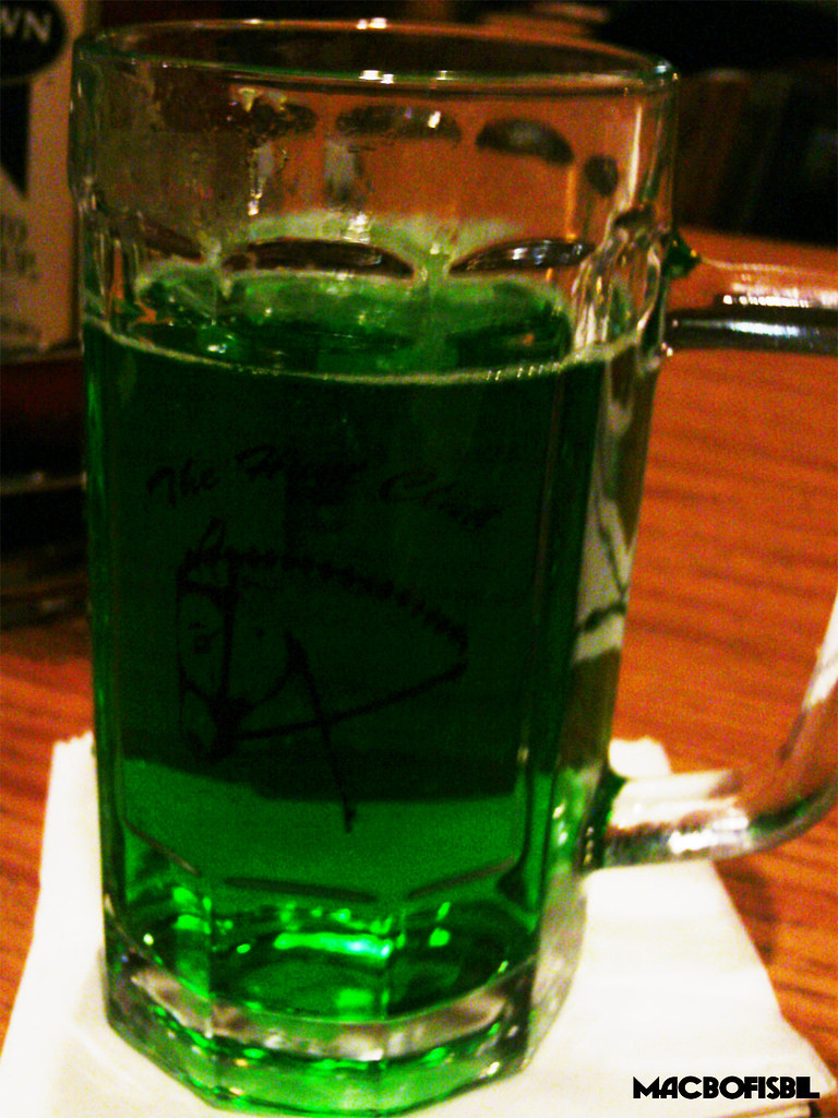 St. Patrick's Green Beer