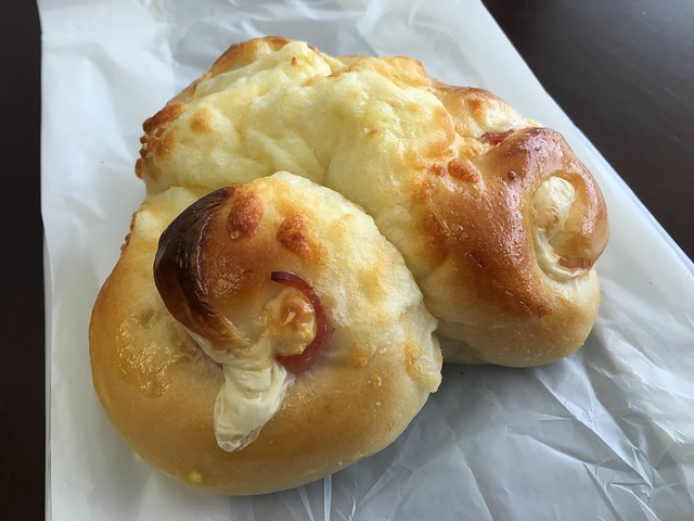 Ham and cheese bun - Yummy Bakery and Cafe