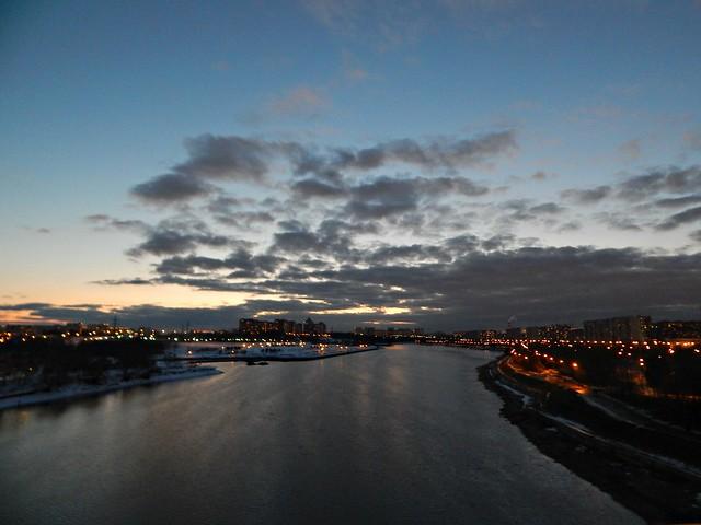 Закат над Москва-рекой | Хорошо.Громко.