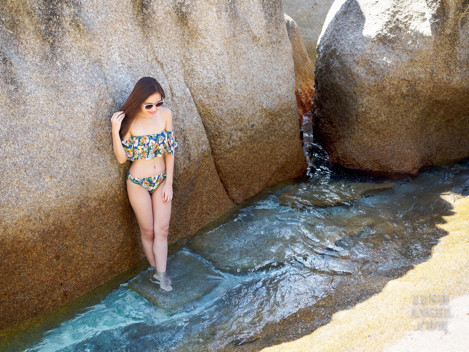 ruffled-floral-bikini