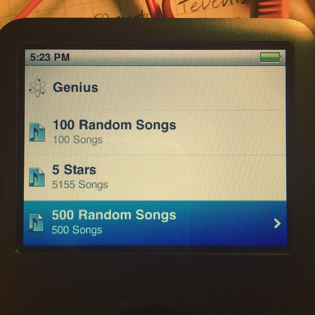 It remembered how to count to 500. #iPod #mathishard
