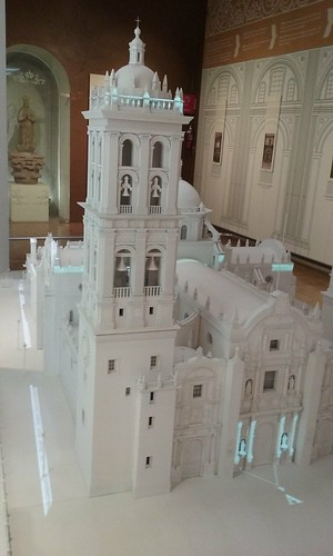 Model of Puebla Cathedral, Mexico