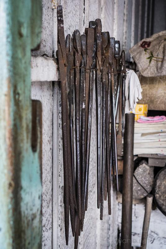 Blacksmith Sri Gading - tools