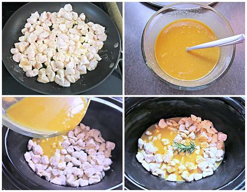 Honey Mustard Chicken Steps