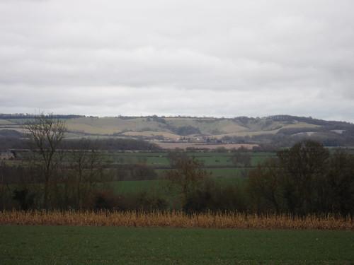 Greensand Ridge from Upper Gravenhurst