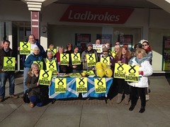 Campaigning for Keith Brown, Scottish Parliament Elections 2016