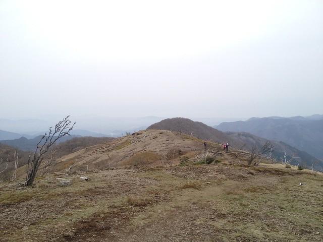 鈴北岳 鈴ヶ岳方面