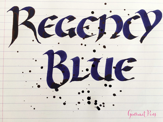 Ink Shot Review Diamine 150th Anniversary Regency Blue (6)