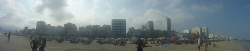 Beach and city
