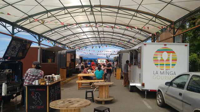 Food Truck Festival, Puerto Varas, Chile