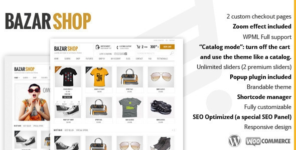 Bazar Shop v3.1.3 – Multi-Purpose e-Commerce Theme