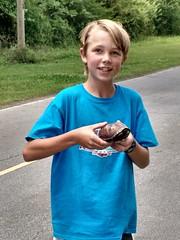 Caden's turtle rescue