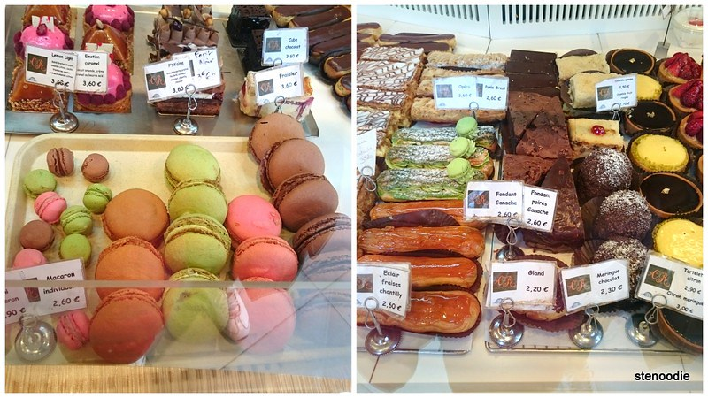 French desserts in Paris