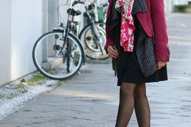 Spring Look with Moto Jacket I www.StyleByCharlotte.com