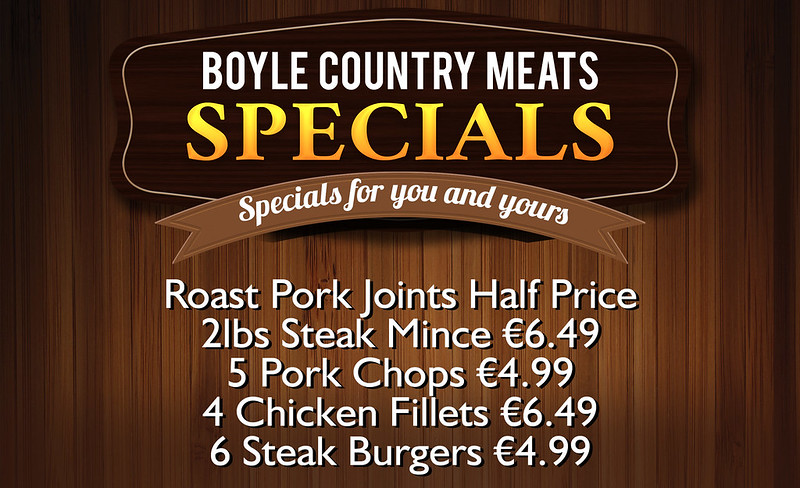 Boyle Country Meats Specials