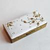 Vintage Brass / Guilloche Enamel Ladies' Cigarette Case