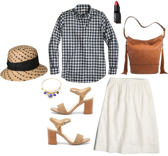 What I Wish I Wore, Vol. 132 - Gingham Simplicity | Style On Target