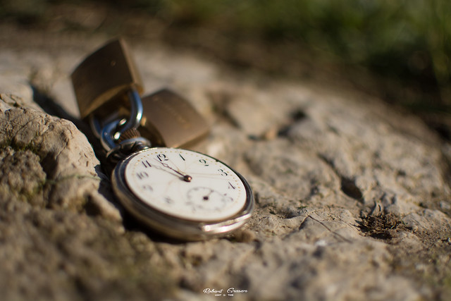 sometimes i wish the time is locked #FlickrFriday #Lock