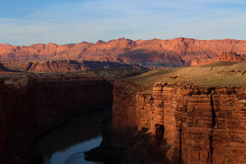Marble Canyon from Navajo Bridge