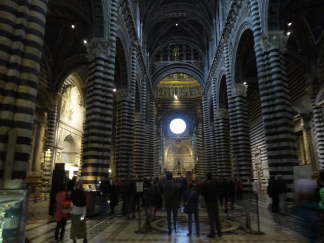 Nave, Duomo, Siena