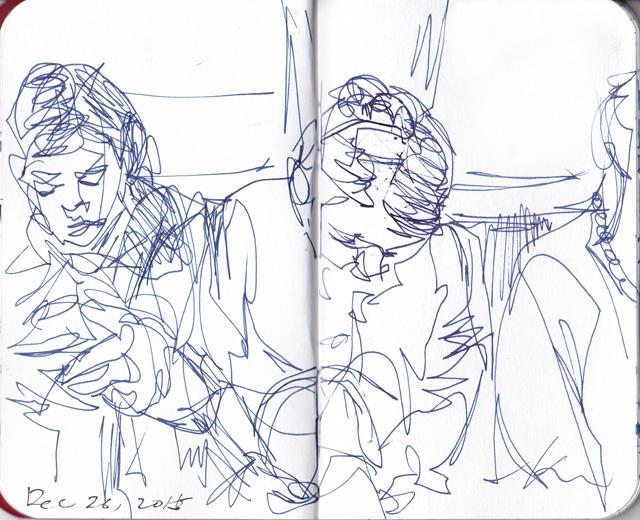 in the train-1