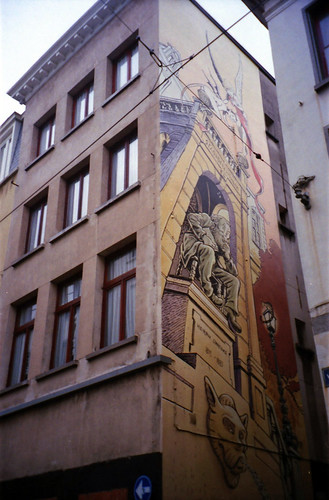 Jan Bosschaert mural - detail