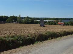 Le menhir de La Verrie près de Monteneuf - Morbihan - Août 2015 - 02
