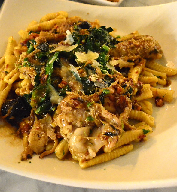 Cavatelli with Suckling Pig and Kale