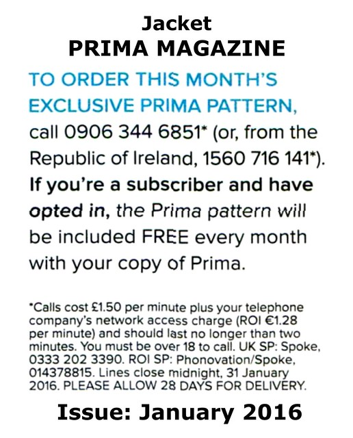 Prima Magazine - Pattern, January 2016 (04)