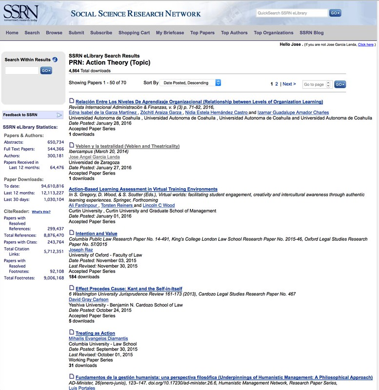 Action Theory - SSRN