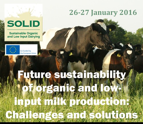 SOLID organic dairy conference