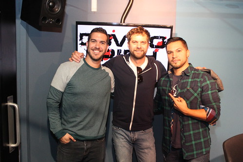 Joshua Jackson on the Covino & Rich Show