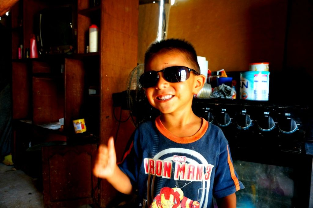 boy in puebla orphanage
