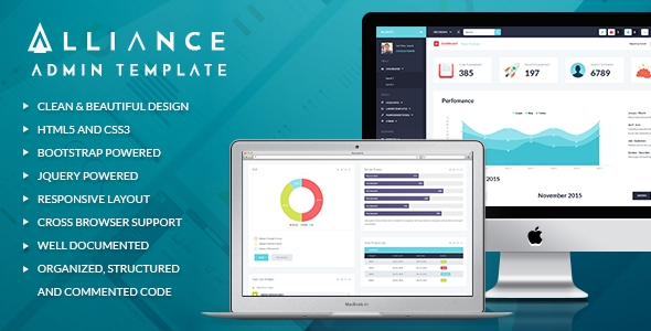 Themeforest Alliance v1.1 - Responsive Bootstrap Admin Template