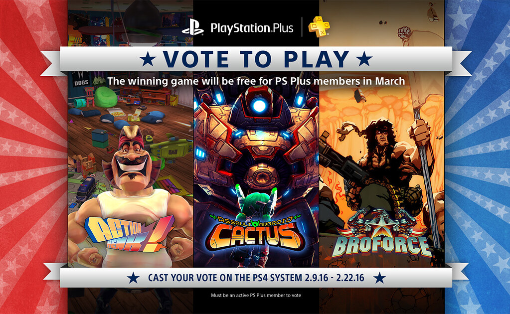 Vote to Play, March 2016