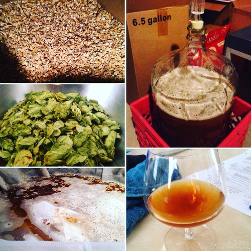 Brew Day for Acorn Pale