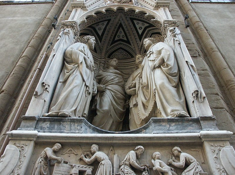 Four Crowned Martyrs at the Orsanmichele