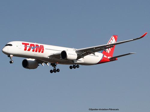 TAM Linhas Aéreas Brasil Airbus A350-941