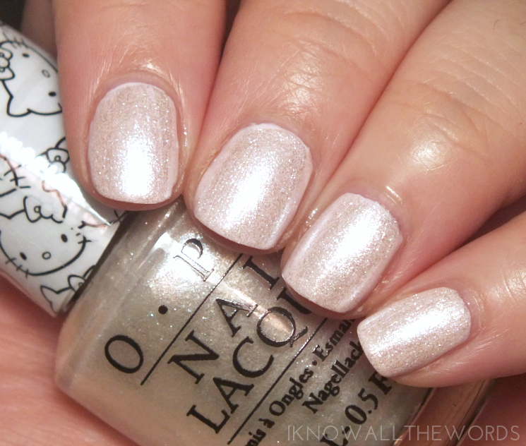 Hello Kitty collection by OPI Kitty White