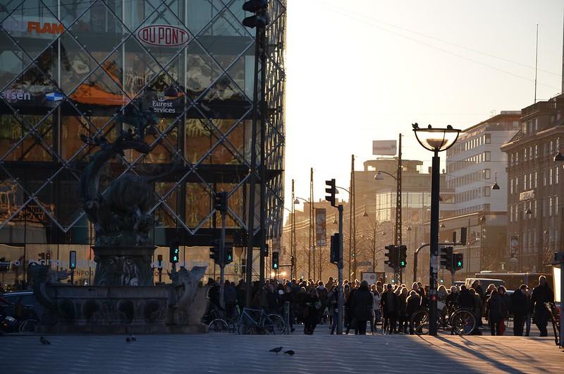 Widok z placu przed Ratuszem