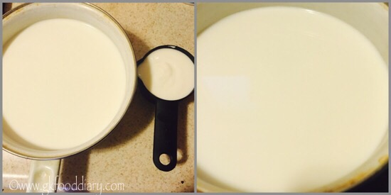 Homemade Ricotta Cheese Recipe for Babies, Toddlers and Kids - step 1