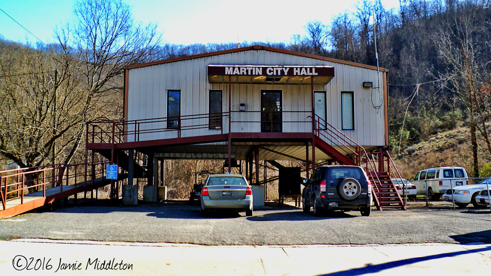 City Hall -- Martin, Kentucky