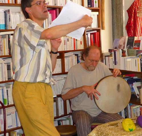 Alain Marc et Serge Béchu