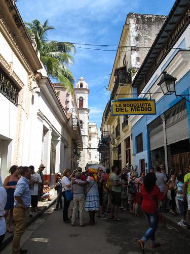 La Havane: la Bodeguita del Medio