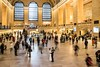 Grand Central Station - happened upon a wedding photo shoot