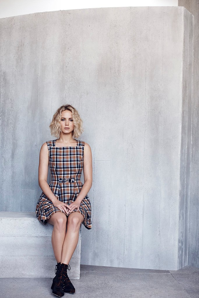 Дженнифер Лоуренс — Фотосессия для «Dior» NG 2015 – 10