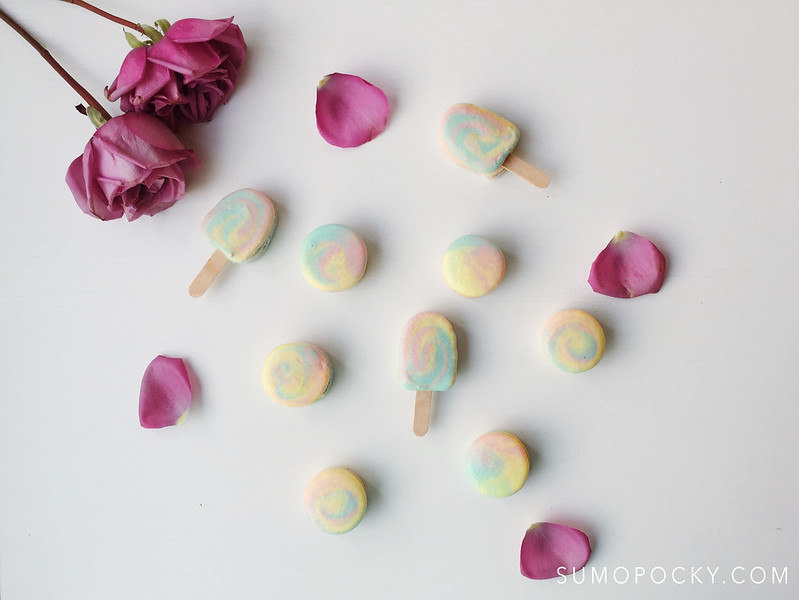 Paddle Pop Macaron