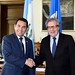 Secretary General Meets with President of Guatemala.