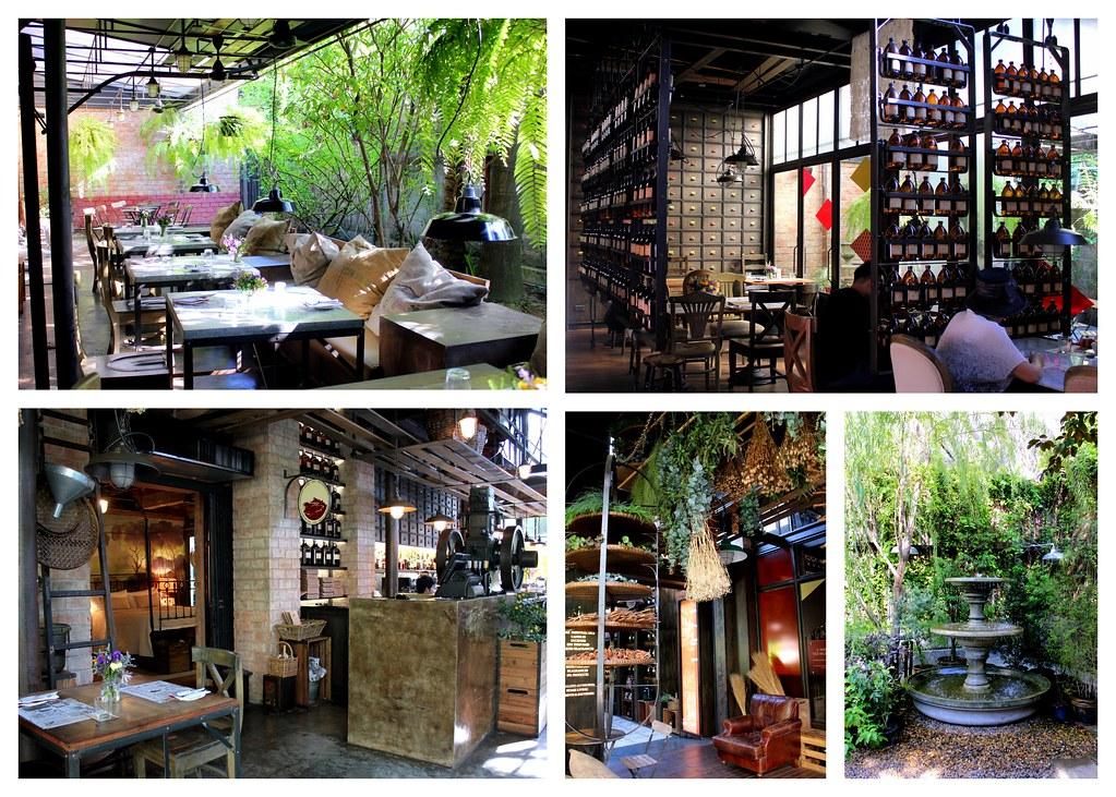 曼谷甜点:卡玛卡迈特餐厅内部咖啡厅